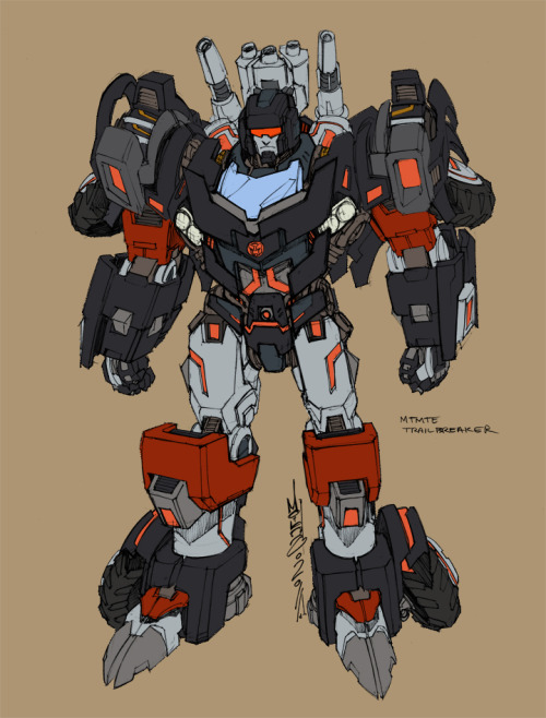 Hey, pretty… Alex Milne's Trailbreaker Design