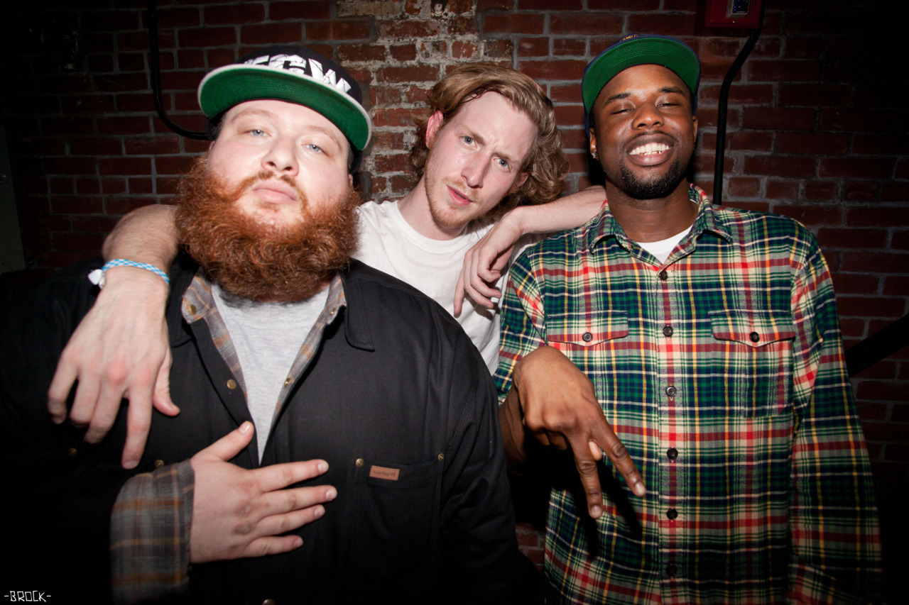 brockfetch:  action bronson. asher roth. A$AP twelvy.   Julio Bashmore, Jackmaster & Fis-T in 2019