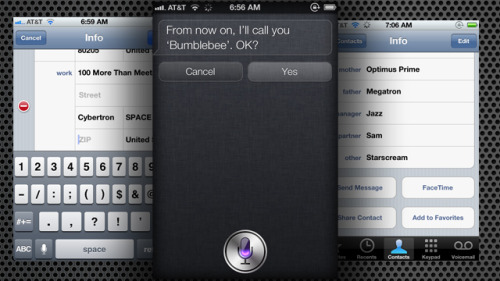 Fill Out Your Address Book to Make Siri Work Better   I would love Siri but cannot justify a new iPhone when mine is oly 7 months old… Lots of people in same situation. Wish they would make it available on the iPhone 4! (via Fill Out Your Address Book to Make Siri Work Better)