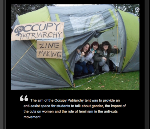 "subconciousevolution:  http://www.occupypatriarchy.org/  If you ARE wondering about the sudden loads of post with the tags ""occupy patriarchy"", this site is cool to check out :)"