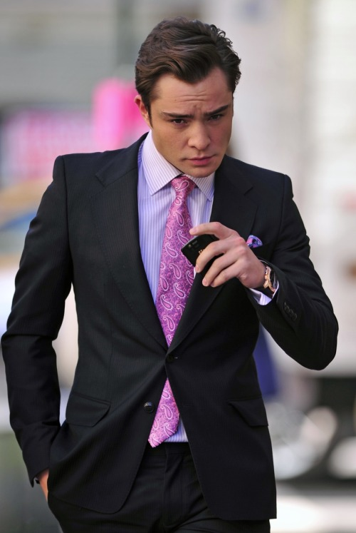 Because I'm Chuck Bass