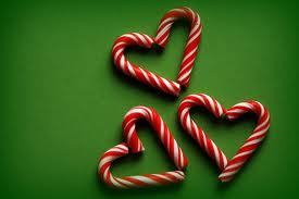 Cute idea! #candycane #xmas #heart