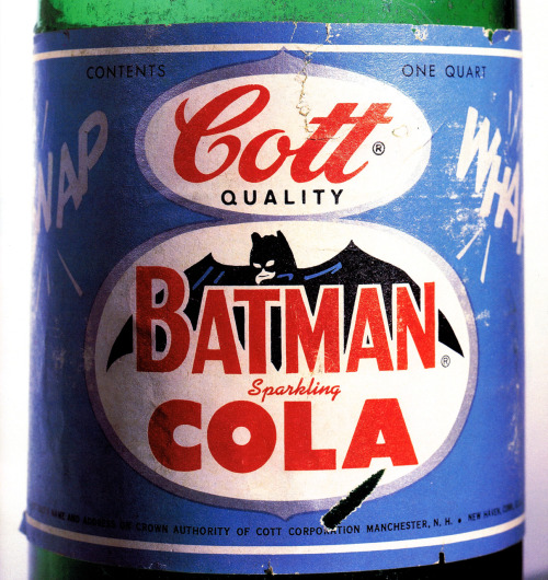Batman Cola circa 1966 scanned from Batman Collected :: Little, Brown & Company :: 1996