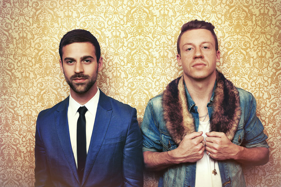 Ryan Lewis & Macklemore. These dudes make dope music too. I actually got to interview them earlier this year. Take a look.