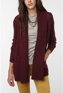Sparkle & Fade Marled Drapey Open Cardigan from Urban Outfitters on SALE ($39.00). MINE- as of this morning. I'm looking forward to wearing it tomorrow night! I'll be all cozy while unwrapping gifts! I did buy a bigger size though because I like it longer… … No pun intended.