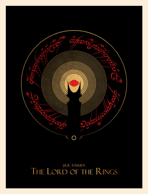 The Lord of the Rings by Ian Wilding Prints available on Society6