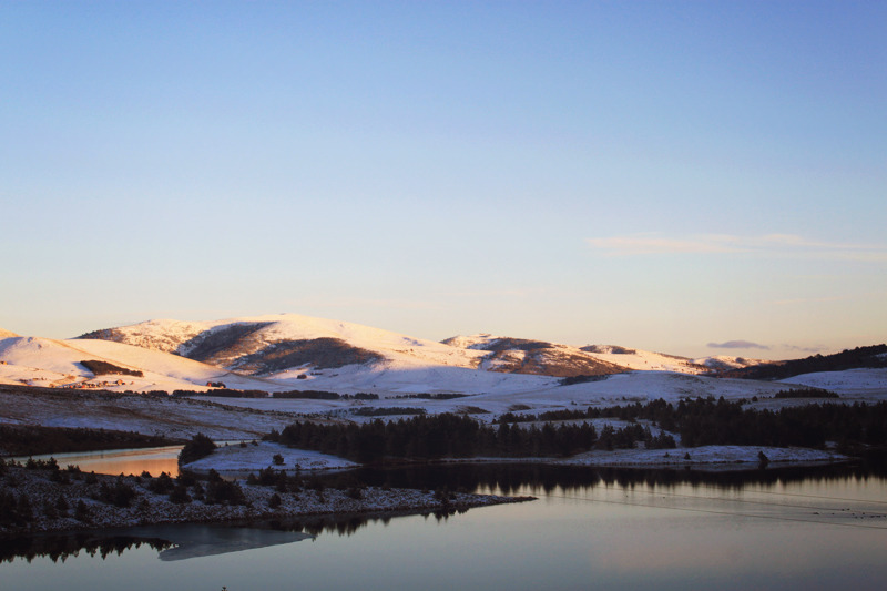 Zlatibor, winter 2011. Lake