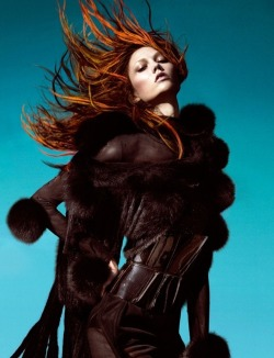 Karlie Kloss by Greg Kadel for Numéro #129 Dec 2011/Jan 2012