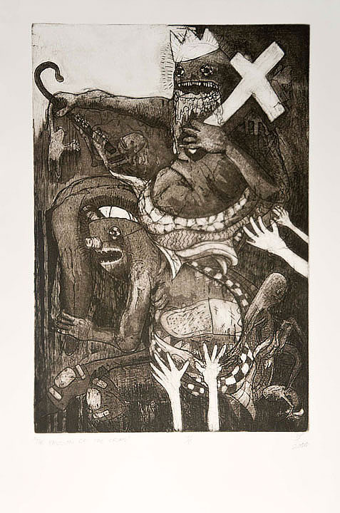 """The Deposition from the Crim"" Intaglio 2011"