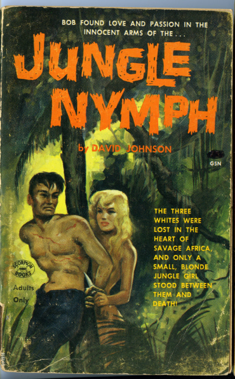 JUNGLE NYMPH. Scorpion Books, 1964.