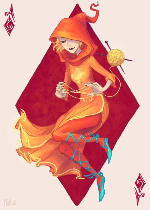 paperpie:  52Stuck God Tier Rose! Her hood seriously looks like a traffic cone.