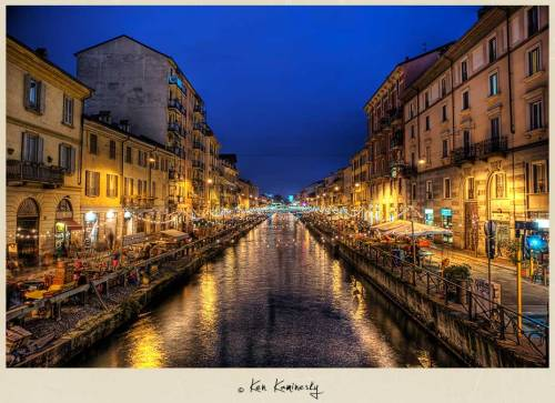 The Navigli Canals of Milan