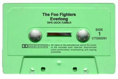 tape-deck:  The Foo Fighters - Everlong