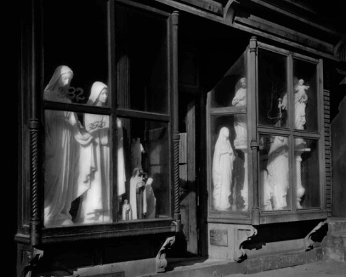 Saints For Sale by Berenice Abbott, 1934