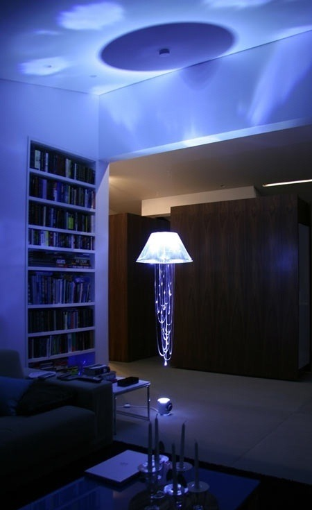 LED Jellyfish Lamp.