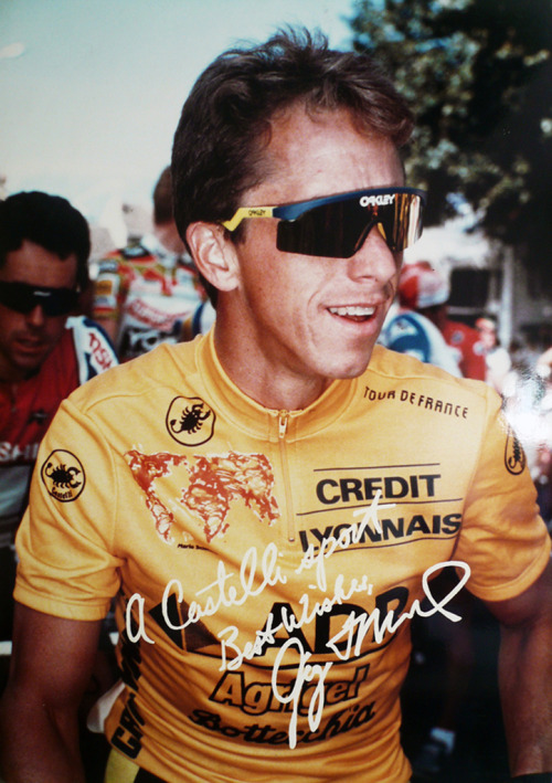 castellicycling:  Oh Yeah!  Lemond. Baller. - big jonny