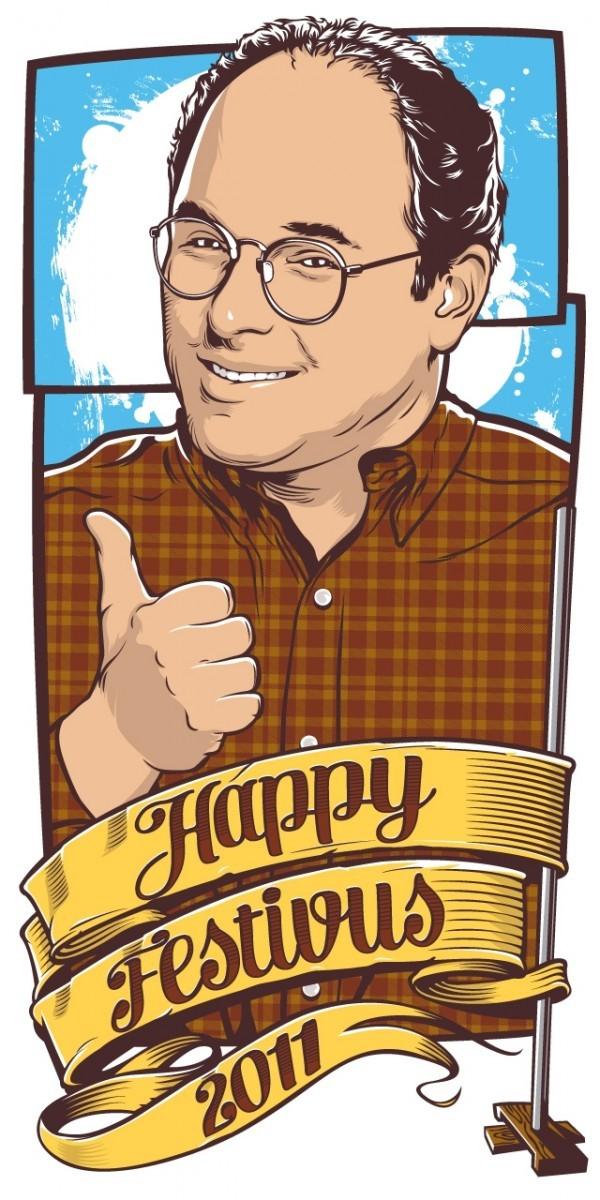 George Costanza Wishes You a Happy Festivus 2011