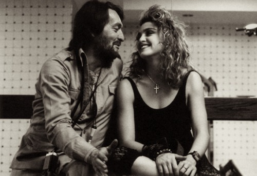 Photographer Ken Regan and Madonna