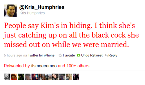 thegrandarchives:  TELL THAT SHIT LIKE IT IS KRIS HUMPHRIES