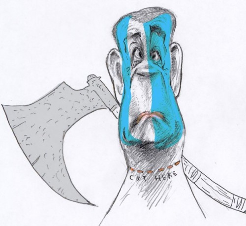 Sketch of John Boehner by Steve Brodner.