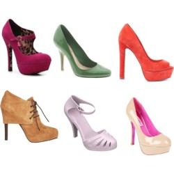 shoes by jafinha featuring heel bootiesSchutz shoes, $150Supertrash heel booties, €105Heel pumps, 140 AUDMelissa ankle strap shoes, 135 AUDBetsey Johnson platform shoes, $130Betsey Johnson fuchsia high heels, $100