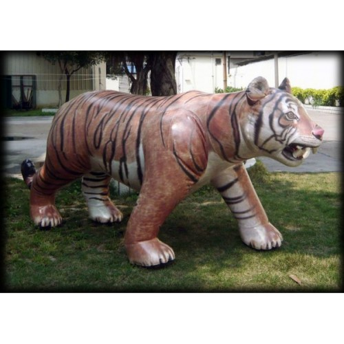 Because everyone needs a giant inflatable, lifelike tiger on their lawn.