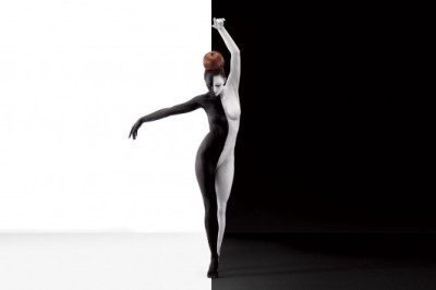 Black & White Body Painting via WANKEN - The Blog of Shelby White» Aizone SS11 Campaign   Body Painting