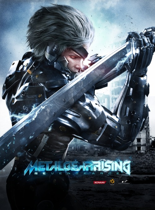 Day 18 - Eargerly Awaited Game in the Future Metal Gear Rising: Revengeance 30 Day Video Game Challenge