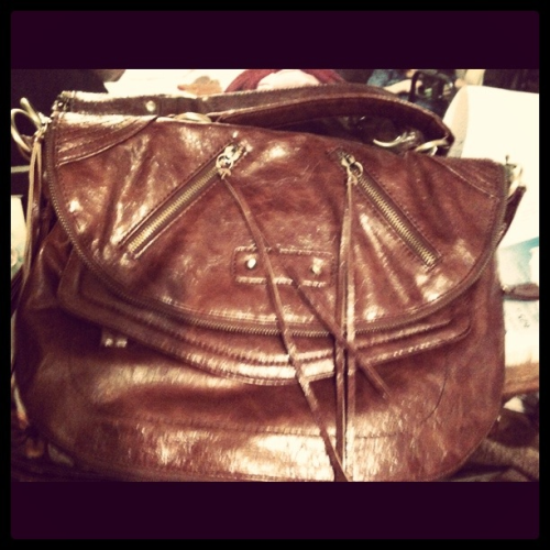 My new purse - I love my mom :)