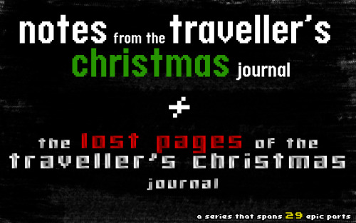 Sadly, terribly, awfully, it's now the end of the Traveller's Christmas Journal series; I have dedicated a post that spans the entire 29 parts and their locations covering Christmas around the world. You can click each location to be transported there but in reality and non-fiction, you won't go anywhere, but you will be able read the parts in order.If you have been misbehaving and been a terrible follower of this blog and missed last year's series, you can read them now before the New Year.You could have used the tags to get to these posts, but they appear from the last entry. If you don't like spoilers then this is the way to go, but hopefully with your help, you can reblog this entry and get new readers to like it too. We all like something new. Notes from the Traveller's Christmas Journal (Series 1) Part 1 - Preface Africa Part 2 - NigeriaPart 3 - Nigeria (Continued) & Ethiopia Asia Part 4 - Bangladesh, China, Japan & Hong KongPart 5 - India, Indonesia, Israel, Lebanon, Malaysia & PakistanPart 6 - Philippines, Singapore, South Korea & Taiwan Central Europe Part 7 - Central Europe, Czech Republic & SlovakiaPart 8 - Germany, Hungary & Poland Eastern Europe Part 9 - Russia, Armenia, Georgia & Ukraine Northern Europe Part 10 - Denmark, Finland, Norway & Sweden Southeastern Europe Part 11 - Bulgaria, Croatia, Slovenia, Greece, Romania, Moldova, Serbia, Bosnia & Montenegro Southern Europe Part 12 - Malta, Italy, Portugal & Spain Western Europe Part 13 - France, Ireland, The Netherlands, United Kingdom & Scotland North America Part 14 - Mexico, United States & Canada Oceania Part 15 - Australia & New ZealandPart 16 - Australia (Continued) & New Zealand (Continued) South America Part 17 - Brazil, Colombia & Venezuela Nothernmost Point on Earth Part 18 (The Finale) - The North Pole - Santa's Letter The Lost Pages of the Traveller's Christmas Journal (Series 2) Please note, Series 2 is darker than Series 1 and should only be read by mature audiences.Part 1 - ForewordPart 2 - WalesPart 3 - VietnamPart 4 - SyriaPart 5 - New GuineaPart 6 - PeruPart 7 - Micronesia Part 8 - HollandPart 9 - GreenlandPart 10 - Great BritainPart 11 (The Finale) - Egypt - One for the Ages (After Santa's Letter) - - -I have enjoyed creating and writing this complete series and I hope you have been immersed in its world, until the next series,Happy Holidays!!