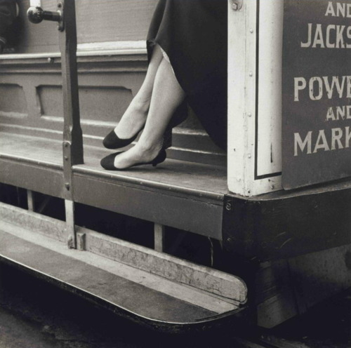 Dorothea Lange, Cable Car, San Francisco, 1956