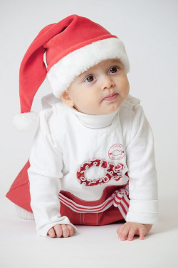 Cute Christmas Baby by ipsico on Flickr.