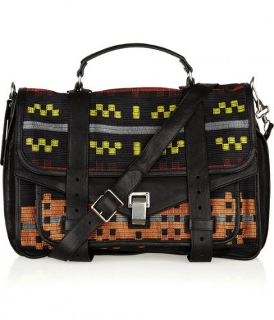 (via Trendland Shop » Proenza Schouler PS1 Jacquard Satchel | $1603)