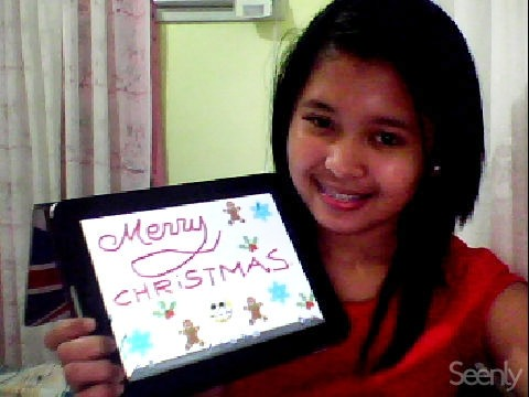 In case I'll miss the countdown tonight, MERRY CHRISTMAS EVERYONE! ♥