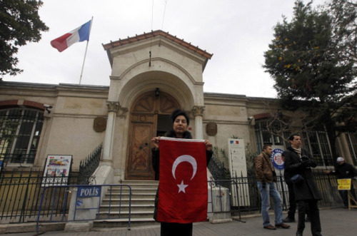 aljazeera:  Turkey accuses France of genocide in Algeria  Turkish PM says France massacred 15 per cent of Algerian population in 1945 as tensions rise between the two countries.