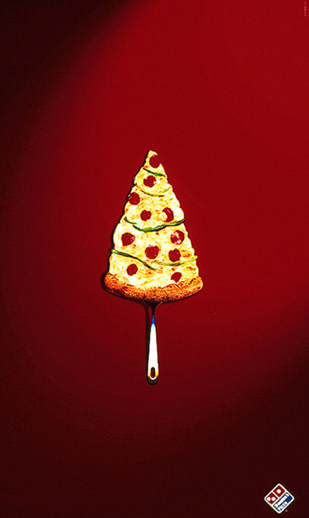 Merry Christmas by Domino's Pizza