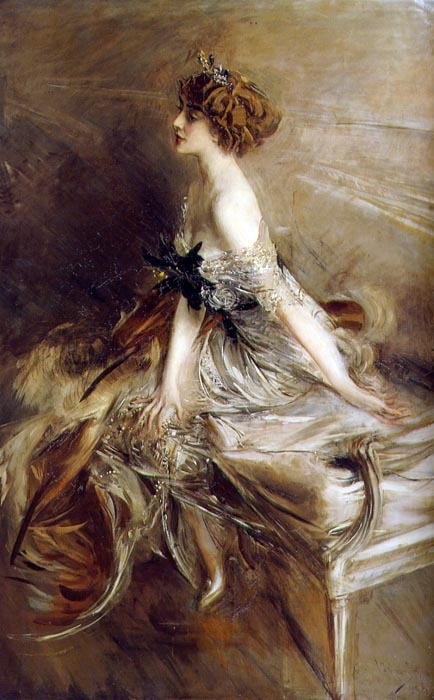 Giovanni Boldini Portrait of Princess Marthe-Lucile Bibesco 1911