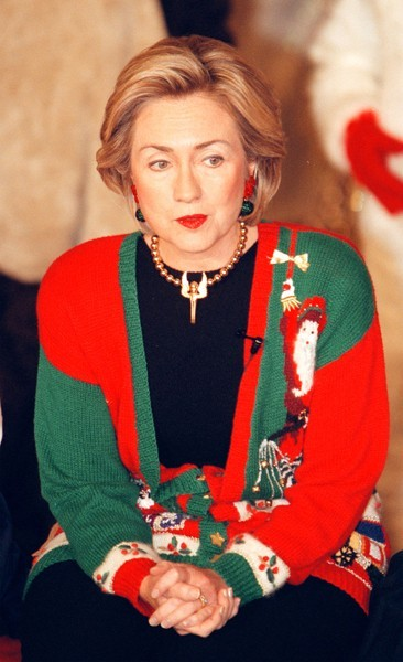 Hillary Clinton, Christmas (1998)