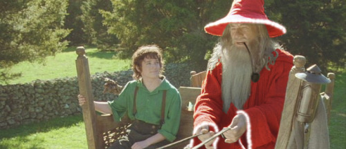 lordofthememes:  d0ctah:  Santa is never late, Frodo Baggins. Nor is he early. He arrives precisely when he means to.