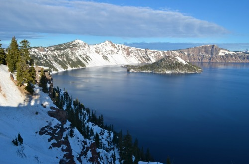 The little dome at Crater Lake.