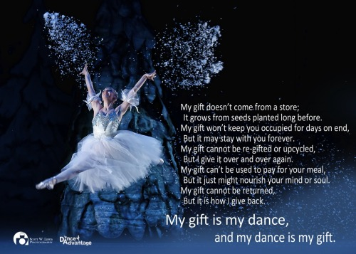 My Gift Is My Dance. A @swilliamlewis & @danceadvantage collaboration. See more of Scott's work on Flickr or find him on Facebook. Visit DanceAdvantage.net for all things dance and dance training.