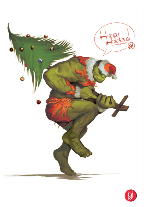 How the Hulk Stole ChRistMas by *Deadlydelmundo