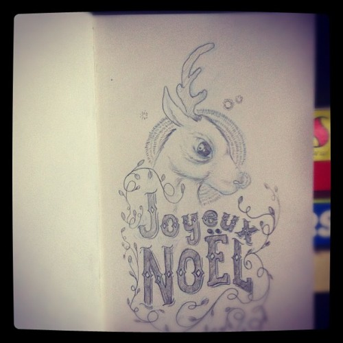 #christmas #doodle (Taken with instagram)