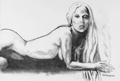 This portrait of Lady Gaga, sketched by fellow superstar Tony Bennett, just fetched $30,000 on eBay.