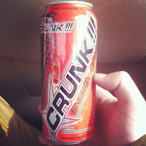When will this come to NY???? #crunk #crunkjuice #fila  (Taken with instagram)