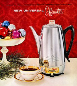 New Universal Coffeematic, 1959