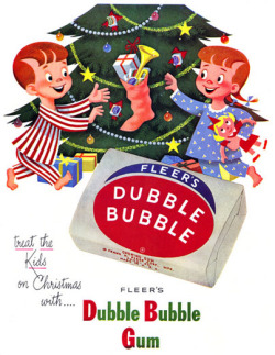 Fleer's Dubble Bubble gum, 1952