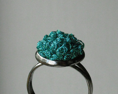 """Modern Fashion"" Teal Ring by TheWhirlwind"