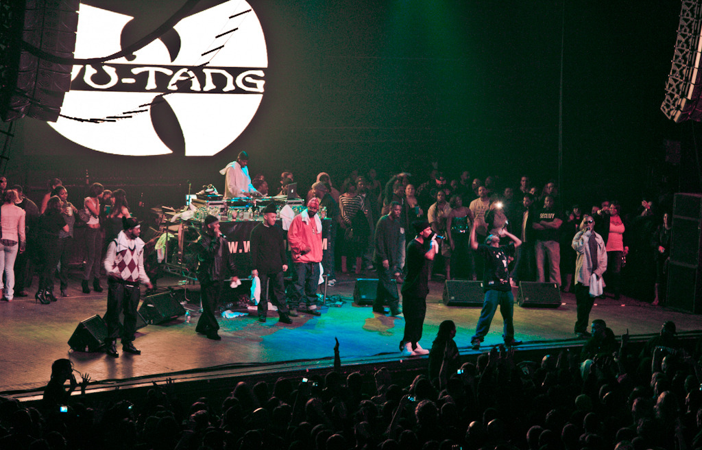 Wu-tang in Chicago.