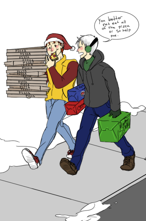 notthiscrap:  Anon requested Wally and Tommy. It was hilarious actually, I misread the request and thought it said Kid Flash and Speedy, not Speed, so I had to erase Roy and draw Tommy in OTL;;